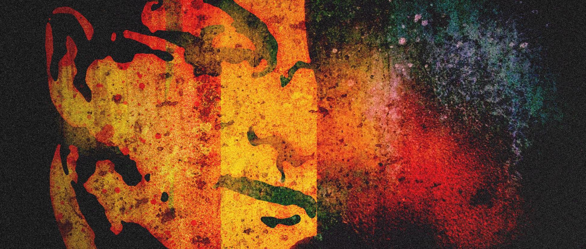 Rushdie Grafiti Mitternachtskinder